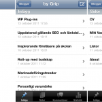 WordPress i mobilen