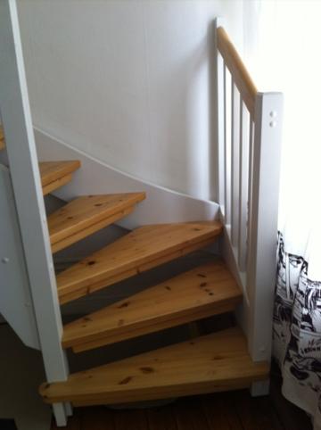 Måla trappa beckers