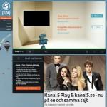 TV kanalernas Play tjänster
