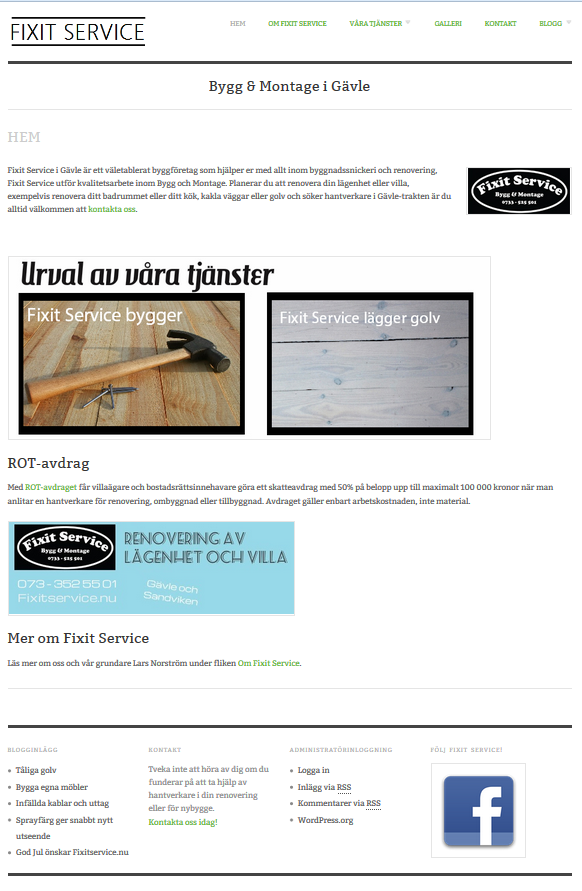 fixit-service-hemsida