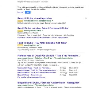 SEO fokus på TravelGrip.se