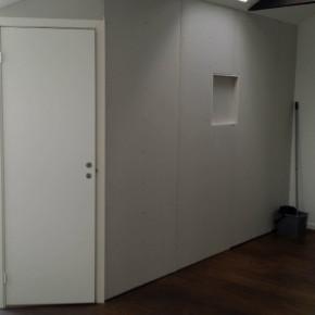 Bygg walk-in closet av vardagsrumsdel