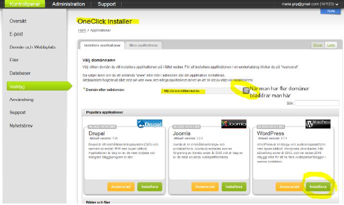 binero-one-click-installer