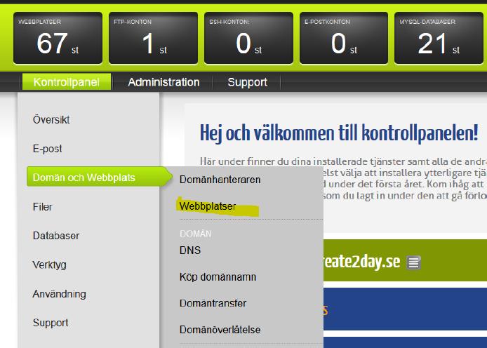 binero-webbplatser